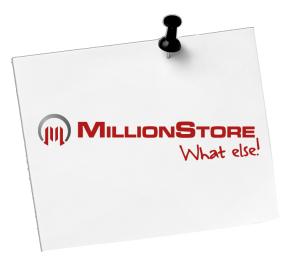 Millionstore Salzburg, Online-Shop, Waren, iPhone, iPad, Grafik, Design, Druck, Visitenkarten